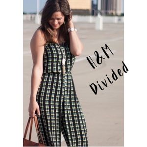 H&M Divided pineapple jumpsuit romper 6P
